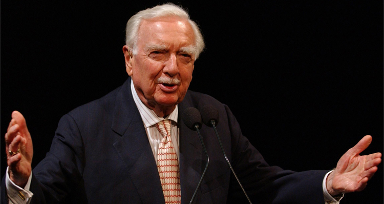 Watch Walter Cronkite's Top 10 Moments As We Celebrate His 100th Birthday Today – 'And That's The Way It Is'