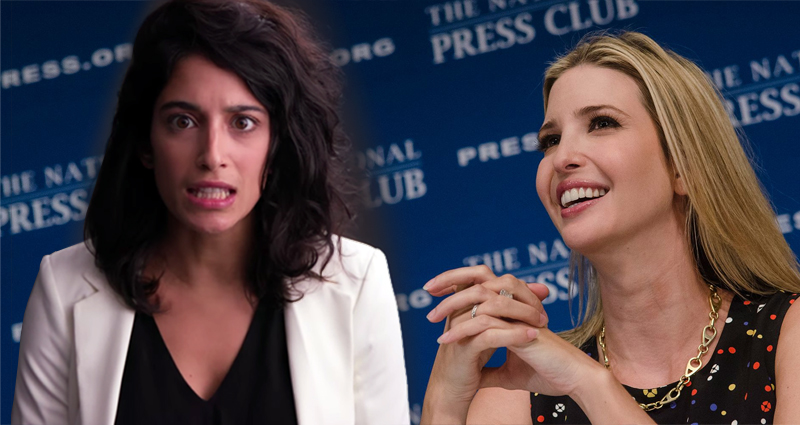 Free Yourself From The Grip Of Your Misogynist Father, A Special Message For Ivanka Trump – Video