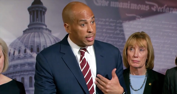 It Only Takes 2 Minutes For Cory Booker To Show Republicans What Resistance Looks Like – Video