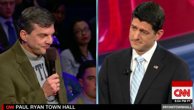 Cancer Patient To Paul Ryan: I'd Be Dead If It Weren't For Pres. Obama & The Affordable Care Act