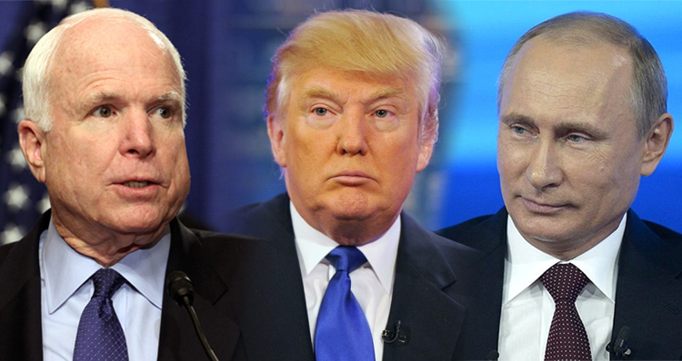 John McCain Schools Trump On Fighting Tyranny And Corruption – Not Supporting It