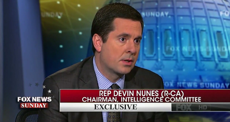 House Intel Chair Admits A White House Staffer Is Under Surveillance – Video