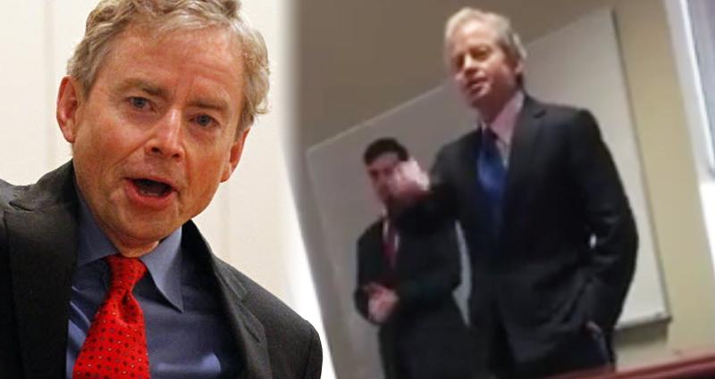 Republican Senator Captured On Video Yelling At School Children – Video