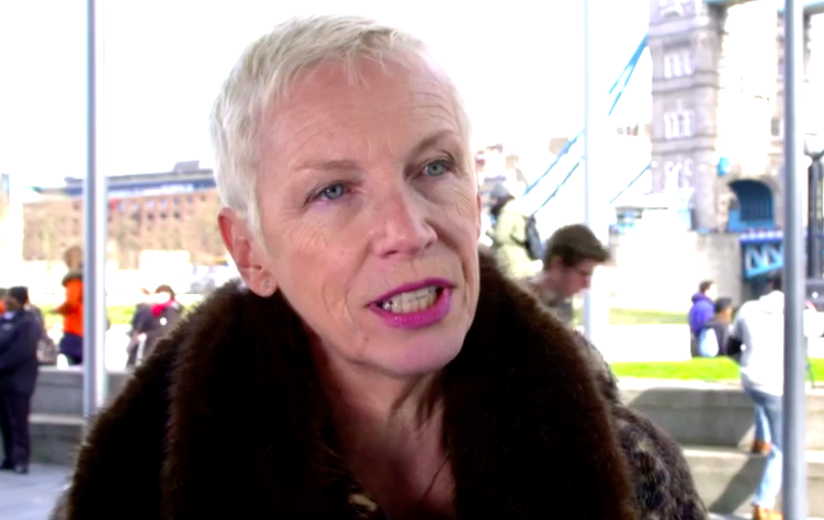 Annie Lennox: Trump Is A 'Catalyst To Wake Up Women'