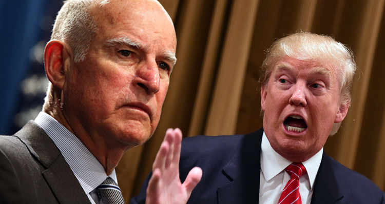 California's Political War With Trump Just Got Real: 'We Won't Cooperate' – VIDEO
