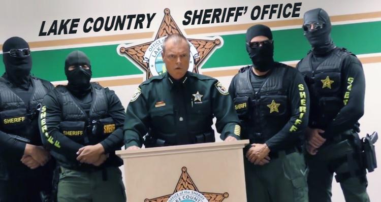 Sheriff Threatens Drug Dealers In Menacing Video