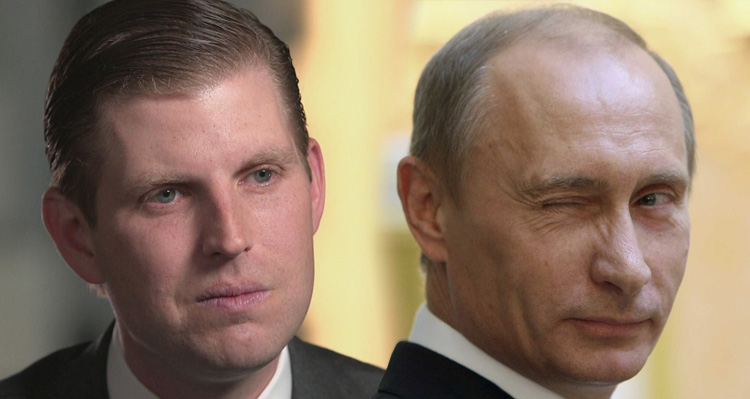 'We Don't Rely On American Banks, We Have All The Funding We Need Out Of Russia' – Old Eric Trump Interview Resurfaces