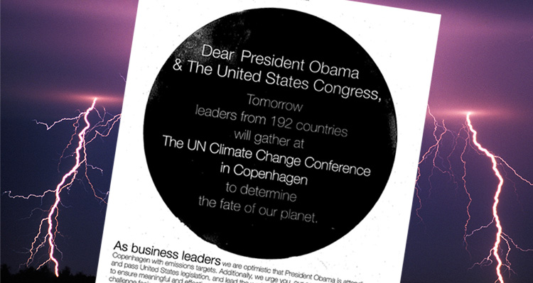 Trump Signed Open-Letter Asking Pres. Obama To Enact Aggressive Climate Change Legislation