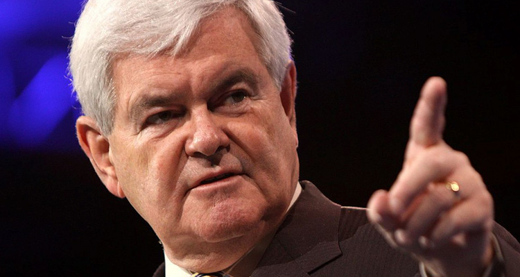 Disgraced Once Already, Hypocrite Newt Gingrich Goes For Round Two of Embarrassment