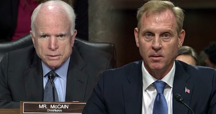 Fireworks As McCain Scolds Deputy Defense Secy. Nominee, Threatens to Block Vote – Video