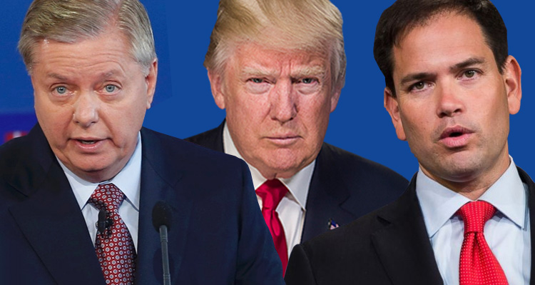 Marco Rubio and John McCain Clash With Trump On Twitter