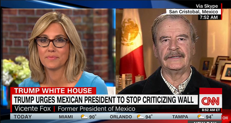 Watch The F-Bomb Getting Dropped Live On CNN By The Former President Of Mexico