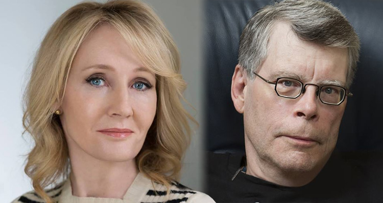 Stephen King And J.K. Rowling Join Forces To Troll Trump – And It Has To Sting