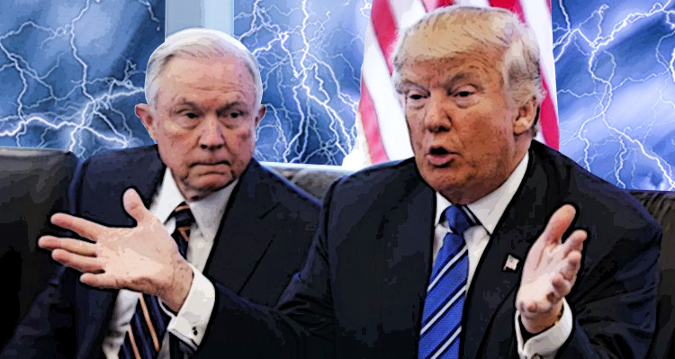 'Sessions And Trump Know What's Coming,' Are Trying To Retroactively Cover Their @sses