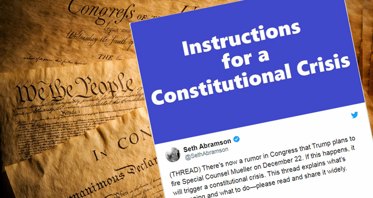 Trump Set To Fire Mueller On December 22: Seth Abramson Explains What This New Rumor In Congress Means For America