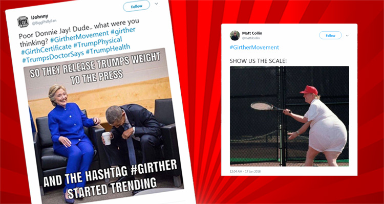 'Girther Movement' Takes Twitter By Storm – Hilariously Questioning Trump's True Height And Weight