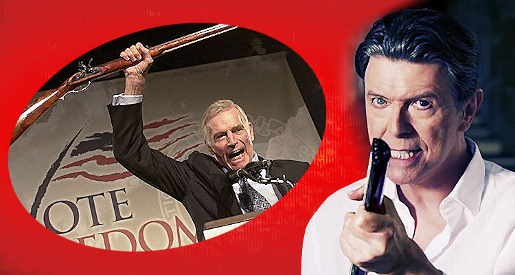 David Bowie's 'Valentine's Day' Takes On The NRA And Others – Music Video