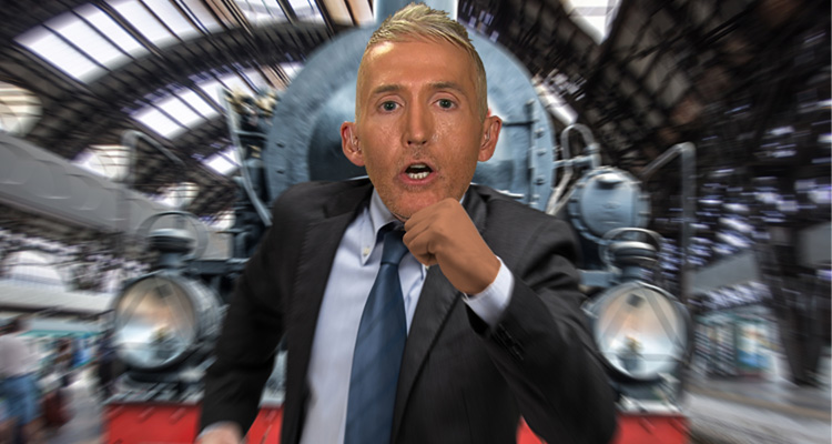 Trey Gowdy Appears To Be Running Scared