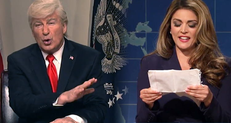 Alec Baldwin Mocks Trump With Hope Hicks Dig: 'She's like a daughter to me. So smart, so hot.' – Video