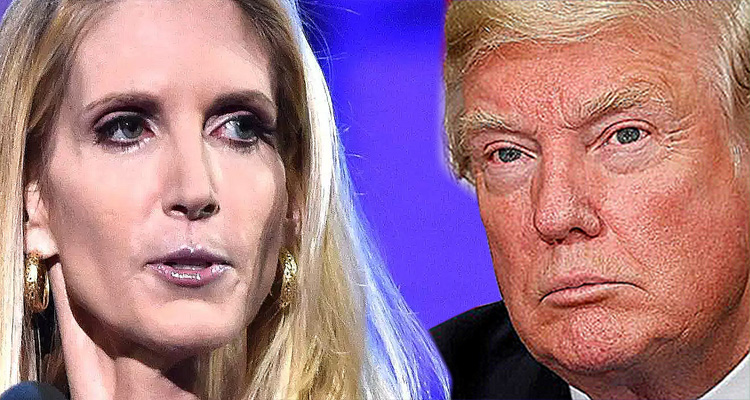 Ann Coulter's War On Trump Just Got Real