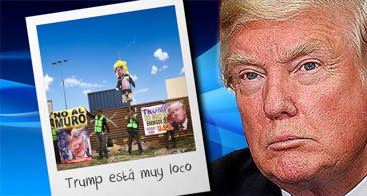 Tijuana Residents Laugh At 'Loco' Trump And His Border Wall Prototypes