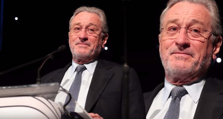 Robert De Niro Dropped An Atomic Bomb On 'Spoiled Idiot' Trump At Charity Event