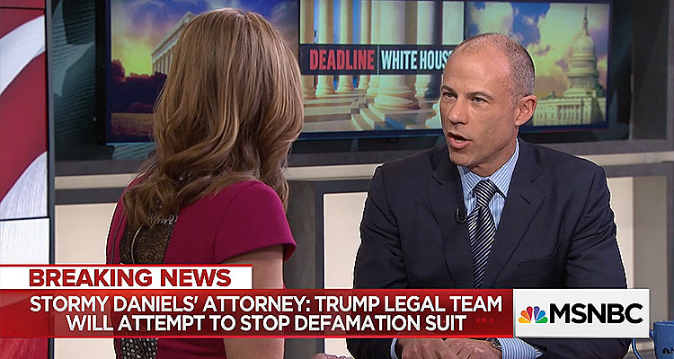 Stormy Daniel's Attorney: Michael Cohen Will 'Plead The 5th,' And 'Will Seek Emergency Stay' Against Defamation Suit