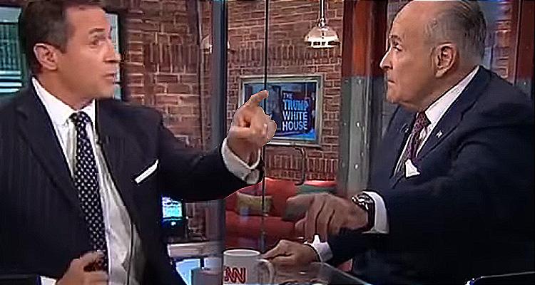 Rudy Giuliani Has A Meltdown When CNN's Cuomo Plays A Clip Of Him Saying Presidents Must Obey Subpoenas