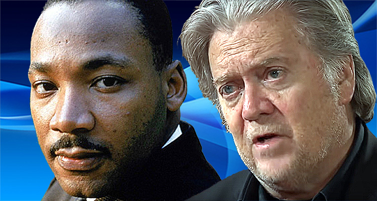 Twitter Explodes After Martin Luther King's Daughter Drops An Atomic Bomb On Steve Bannon And Trump