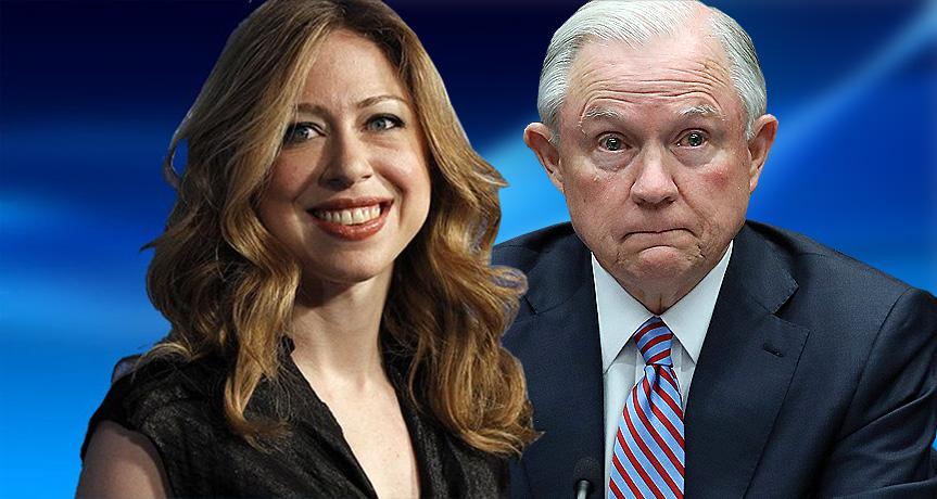 Chelsea Clinton Schools Hypocrite Jeff Sessions