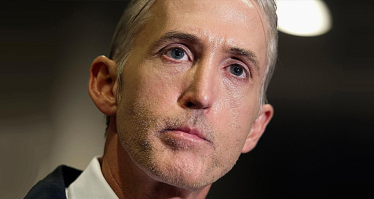 Trey Gowdy Is Either Running Scared Or He Is Trying To Pull A Fast One – Or Both