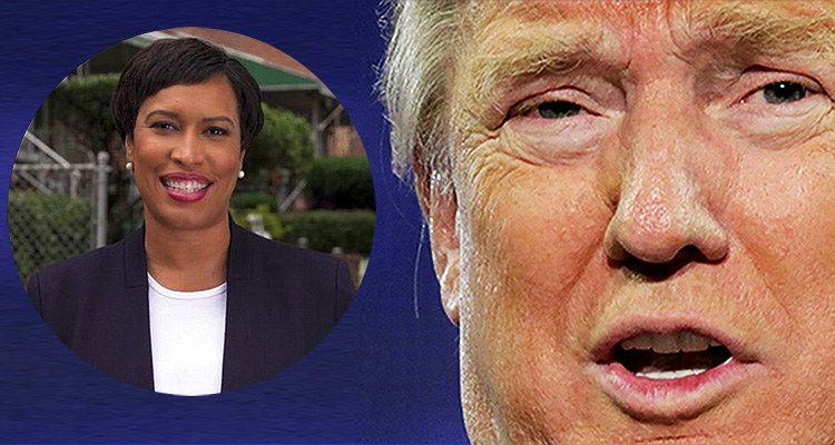 DC Mayor Taunts Trump