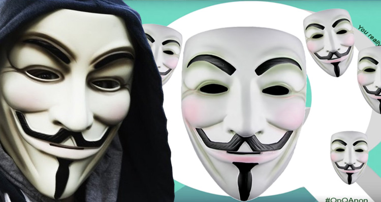 Anonymous Declares War On QAnon Over Their Trump Conspiracy Theories – Video