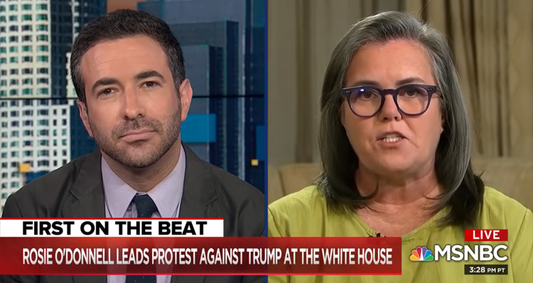 Rosie O'Donnell: Trump Not 'Legitimate,' Has a 'Serious Mental Disorder,' 'Should Be Impeached' – Video