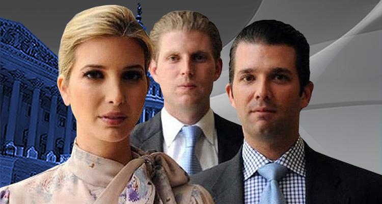 Former Nixon Attorney Tweets Federal Prosecutors Are Targeting Trump's Kids: Eric, Ivanka and Don Jr.