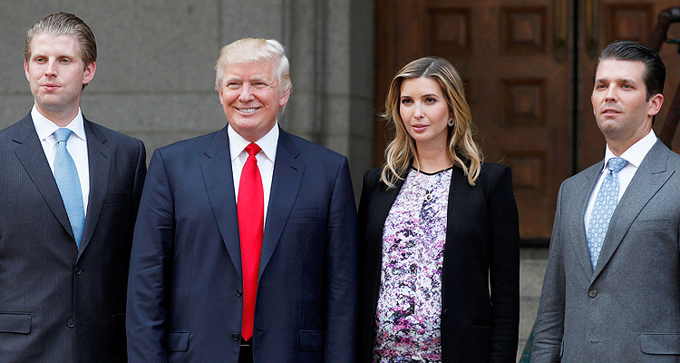 Prosecutors Appear To Have Their Sights On Trump's Adult Children