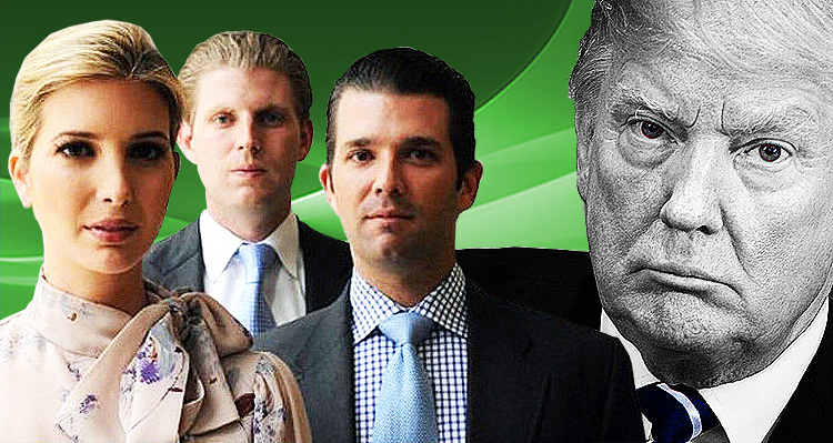 The Time Trump's Kids Held A Family Intervention – Video