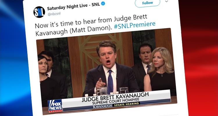 Matt Damon Plays An Angry Beer-Obsessed Brett Kavanaugh On SNL – Video