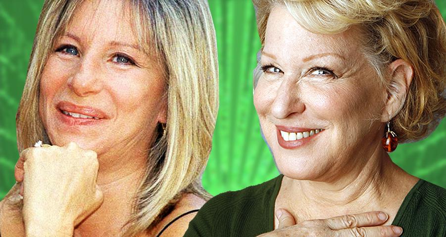 Bette Midler And Barbra Streisand Troll Trump On Twitter