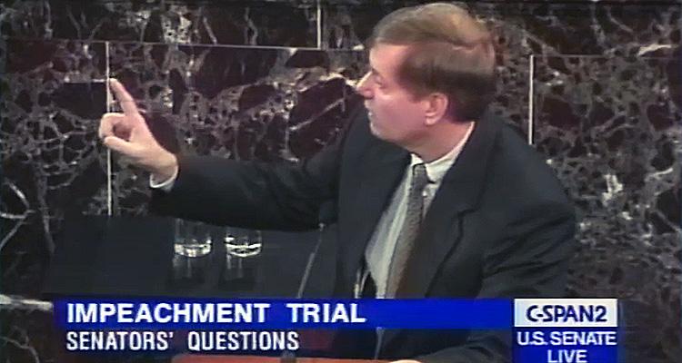 Resurfaced 1999 Clip From Bill Clinton Impeachment Trial Proves Lindsey Graham's Hypocrisy Regarding Brett Kavanaugh