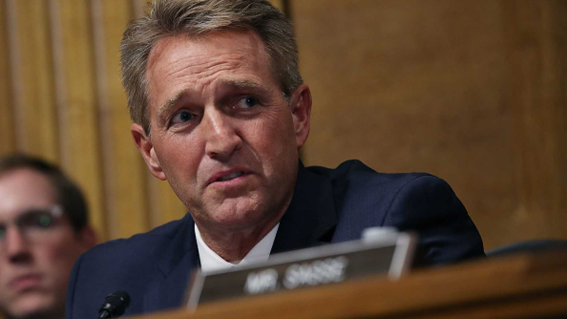 Will Jeff Flake Honor His Own Words?